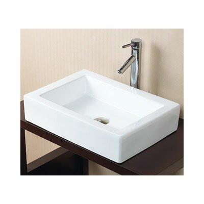Ronbow Format Rectangle Vessel Bathroom Sink U0026 Reviews   Wayfair