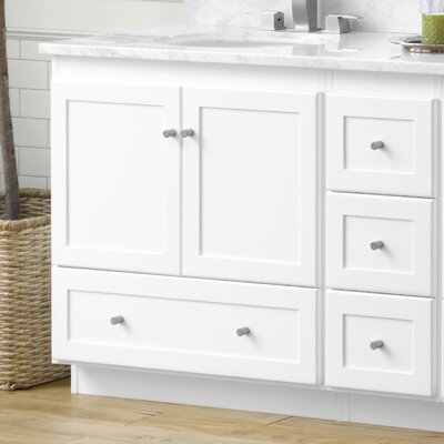 Ronbow modular shaker 31 single bathroom vanity set reviews wayfair for Modular bathroom vanity pieces