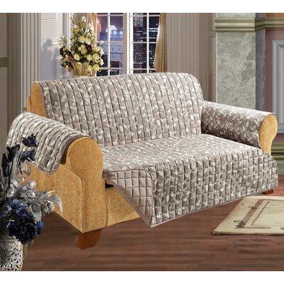 elegant comfort leaf sofa furniture protector microfiber sofa slipcover u0026 reviews wayfair