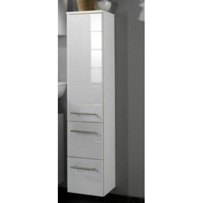 Tall Bathroom Cabinets held möbel rimini 25 x 130cm wall mounted tall bathroom cabinet