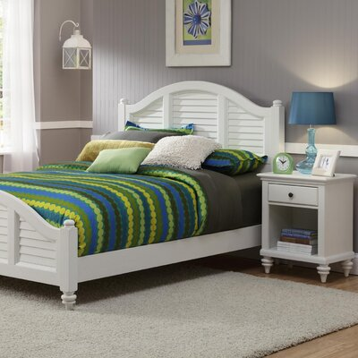 Beachcrest Home Harrison Traditional Panel 2 Piece Bedroom Set U0026 Reviews |  Wayfair