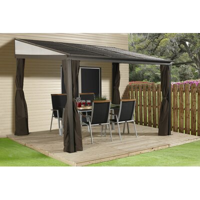 Sojag Portland 12 Ft. W X 10 Ft. D Metal Patio Gazebo U0026 Reviews | Wayfair