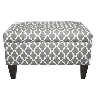 brooklyn upholstered square legged box storage ottoman u0026 reviews wayfair