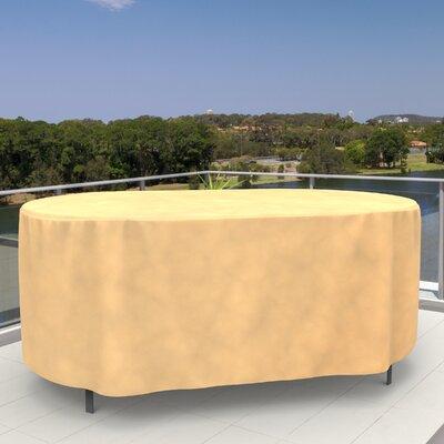 Budgeindustries all seasons oval patio table cover reviews wayfair watchthetrailerfo
