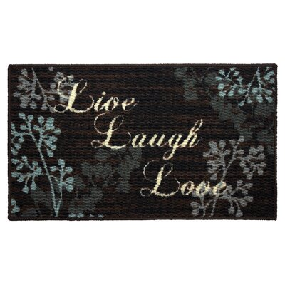 Structures Textured Loop Live Laugh Love Kitchen Area Rug Reviews Wayfair