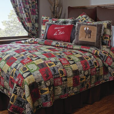 Carstens Inc. Cabin in the Woods  Piece Quilt Set  Reviews  Wayfair