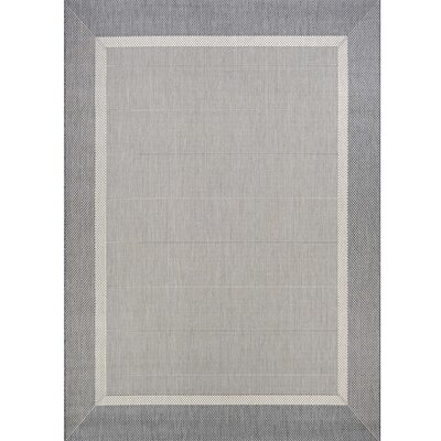 Beachcrest Home Linden Gray Indoor/Outdoor Area Rug & Reviews ...