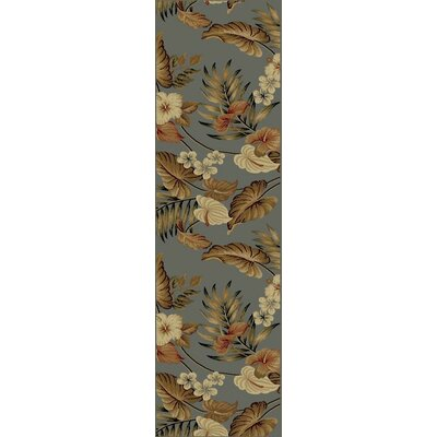 tropical area rugs clearance bay isle home slate rug honolulu 6 x 9