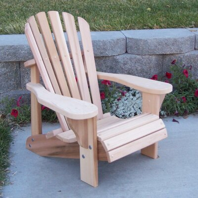 WoodCountry TL Childs Adirondack Chair  Reviews  Wayfair