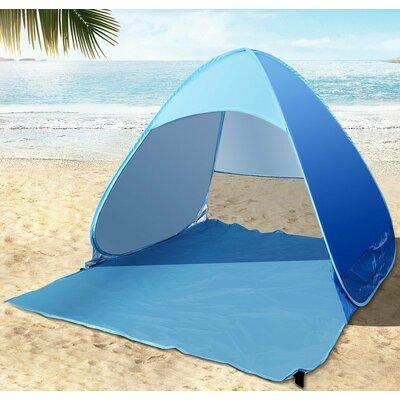 & Koolulu Portable 1 Person Beach Shelter u0026 Reviews | Wayfair