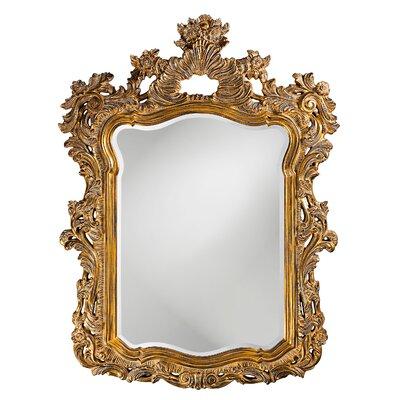 astoria grand gold framed wall mirror reviews wayfair