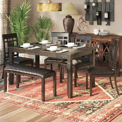 World Menagerie Kouaoua 6 Piece Dining Set U0026 Reviews | Wayfair Part 62