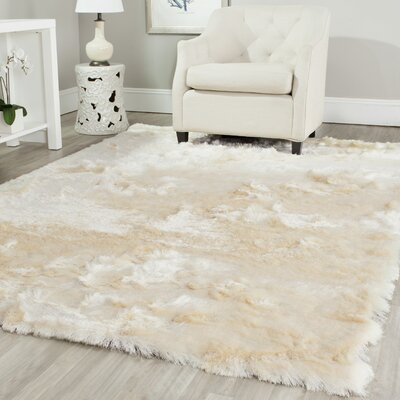 Willa Arlo Interiors Oakdene Ivory Area Rug U0026 Reviews | Wayfair