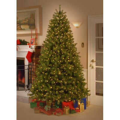 the holiday aisle douglas fir 75 green downswept artificial christmas tree with 750 dual color led lights with stand reviews wayfair - Christmas Tree Led Lights