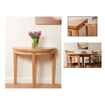 Half Table For Hallway wooden console table hallway furniture kitchen dining table light