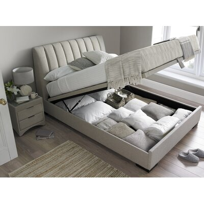 Home loft concept bencatel ottoman bed reviews wayfair for Home loft concept bunk bed