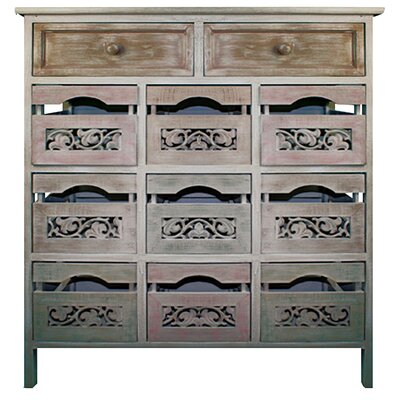 Hazelwood Home 9 Drawer Storage Cabinet & Reviews | Wayfair.co.uk