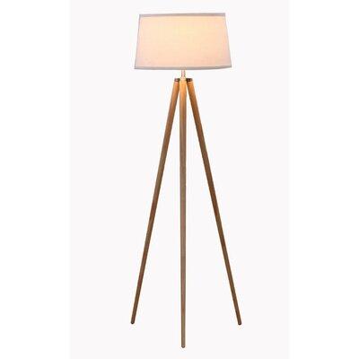 tripod floor lamp white wood spotlight australia oskar target