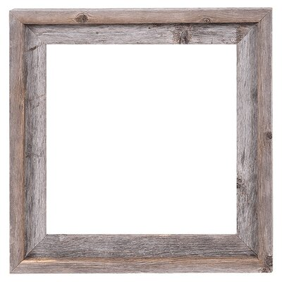 Reclaimed Barn Wood Open Frame - Rustic Picture Frames You'll Love Wayfair