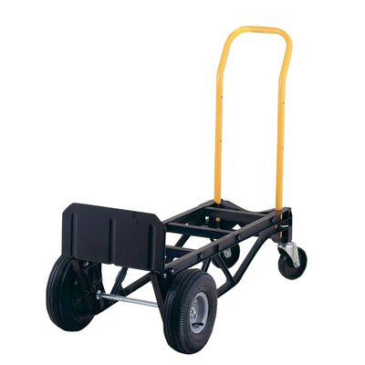 harper trucks 700 lb capacity nylon convertible hand truck platform dolly u0026 reviews wayfair - Convertible Hand Truck
