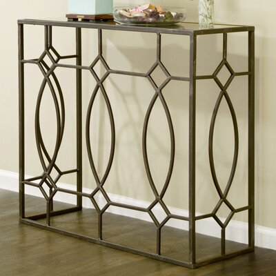 Glamour Home Decor glamour home decor aaralyn mirrored console table & reviews | wayfair