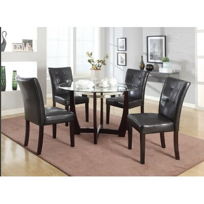 Latitude Run Brooker 5 Piece Dining Set & Reviews | Wayfair