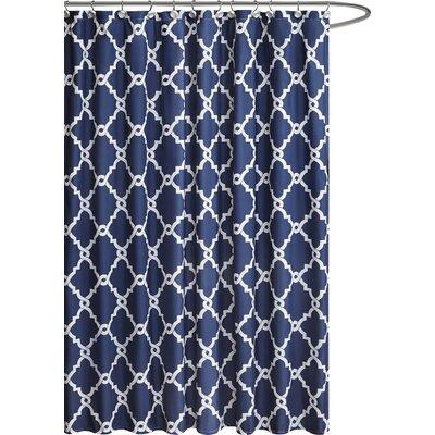 navy and gold shower curtain. Alta Microfiber Shower Curtain Curtains You ll Love  Wayfair