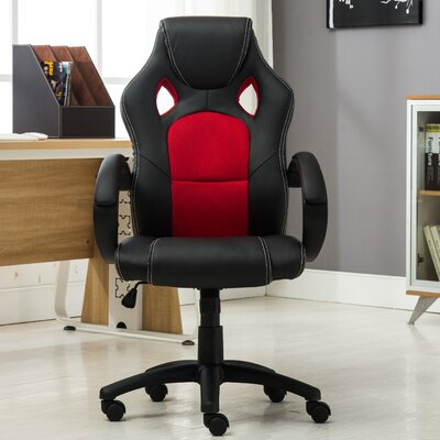 famiscorp executive high back leather office gaming chair u0026 reviews wayfair