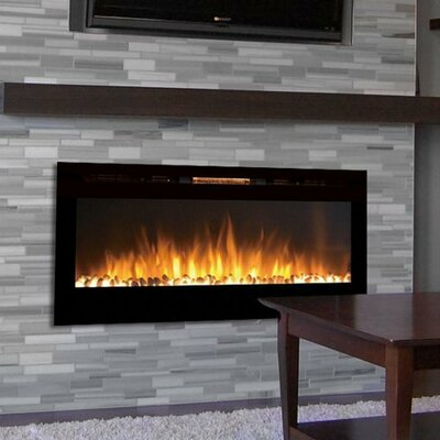 electric wall mount fireplace reviews living pebble glass heater remote