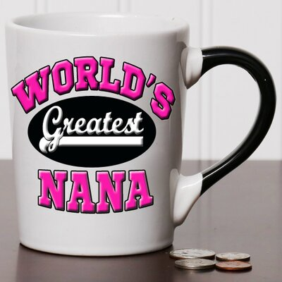 Tumbleweed 20 oz World s Greatest Nana Stoneware Coffee Mug