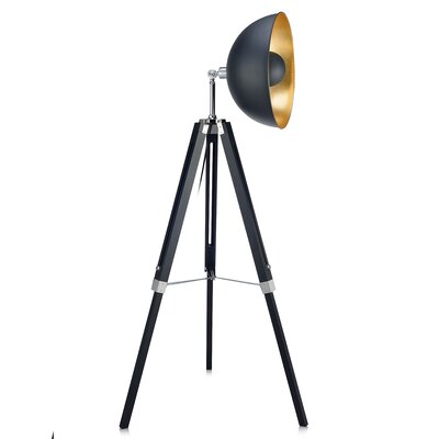 tripod floor lamp walmart wooden with cream shade diy