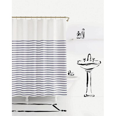kate spade new york charlotte street shower curtain | wayfair