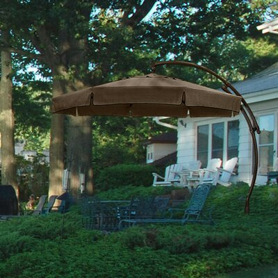 SunGarden 11.5u0027 Cantilever Umbrella U0026 Reviews | Wayfair