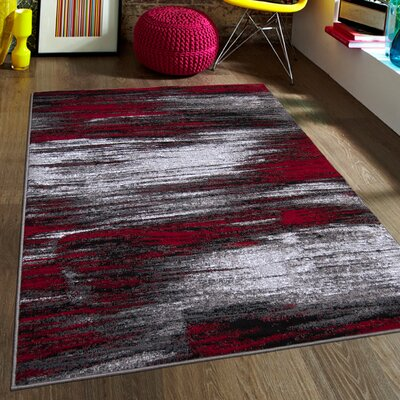 allstar rugs red area rug & reviews | wayfair.ca