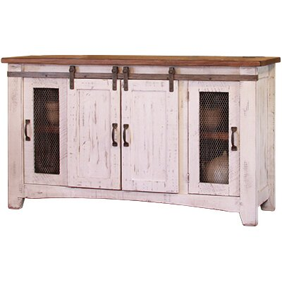 International Furniture Direct Pueblo 60 TV Stand Reviews Wayfair