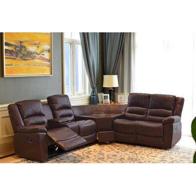 Best Quality Furniture Reclining Sectional Wayfair