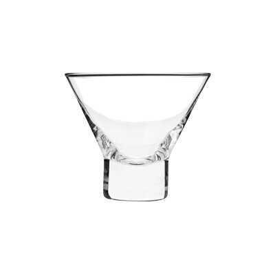 stemless oz martini glass glasses crate and barrel plastic with chilling bowls