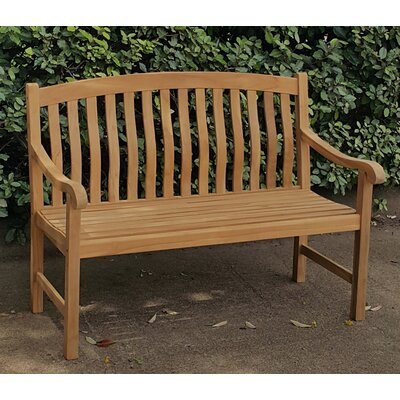 Crestwood Seymour Teak Garden Bench U0026 Reviews | Wayfair