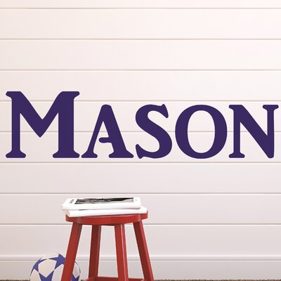 Decor Designs Decals Personalized Name Wall Decal Wayfair