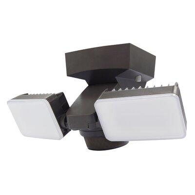 IQ America 2 Head LED Outdoor Floodlight U0026 Reviews | Wayfair