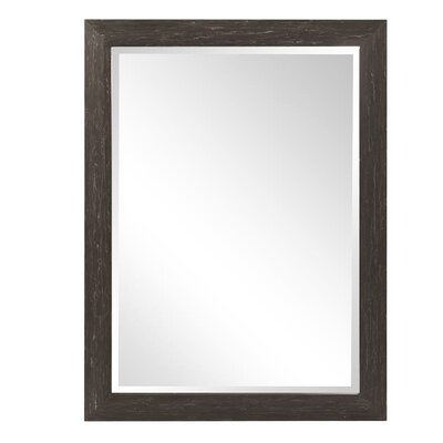 Wood Framed Wall Mirrors union rustic mansfield wood framed wall mirror | wayfair