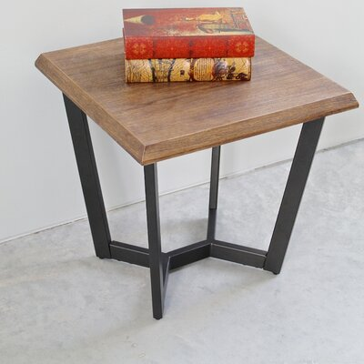 laurel foundry modern farmhouse wisteria end table & reviews | wayfair