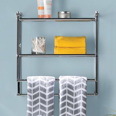wall towel rack oia metro wall shelf reviews wayfair