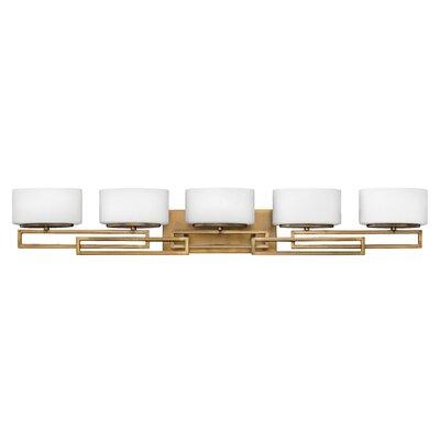 - Mercury Row Denson 5-Light LED Vanity Light Wayfair