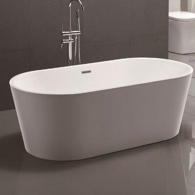 bath tub. Vanity Art 59  x 29 5 Freestanding Soaking Bathtub Reviews Wayfair