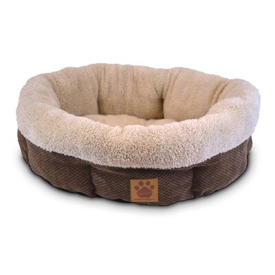 precision pet natural shearling dog bed u0026 reviews wayfair - Precision Pet Products