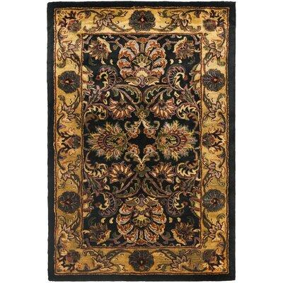 Safavieh Golden Jaipur Antiquity Black/Gold Area Rug & Reviews | Wayfair - Safavieh Golden Jaipur Antiquity Black/Gold Area Rug & Reviews