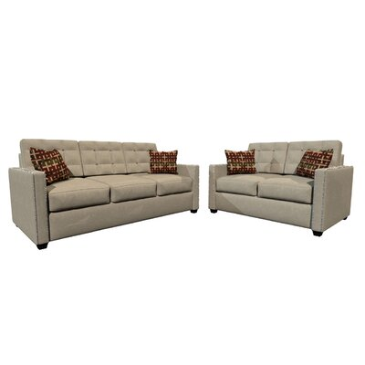 GardenaSofa Laguna 2 Piece Living Room Set & Reviews