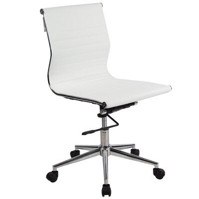 Lone Star Chairs Armless Mid Back Desk Chair Reviews Wayfair