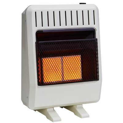 avenger dual fuel ventless infrared btu natural gas propane wall mounted heater with automatic thermostat u0026 reviews wayfair - Propane Space Heater